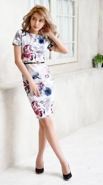 1サイズ下のドレス