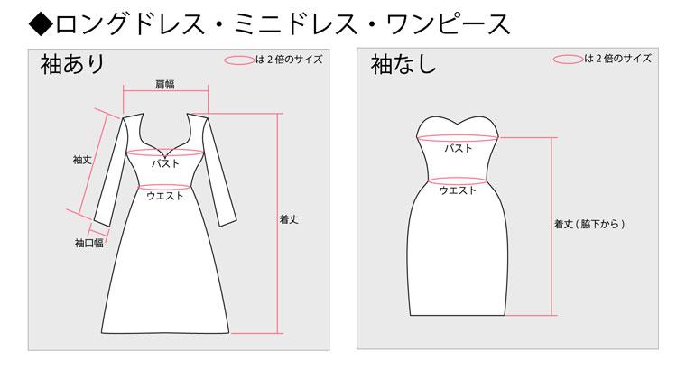 Ryuyu サイズの測り方