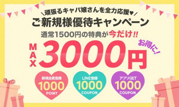 max3000円OFF