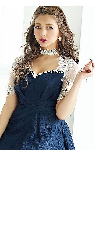 ゆきぽよちゃん着用キャバドレスNo3ふんわりスカートであざと可愛く
