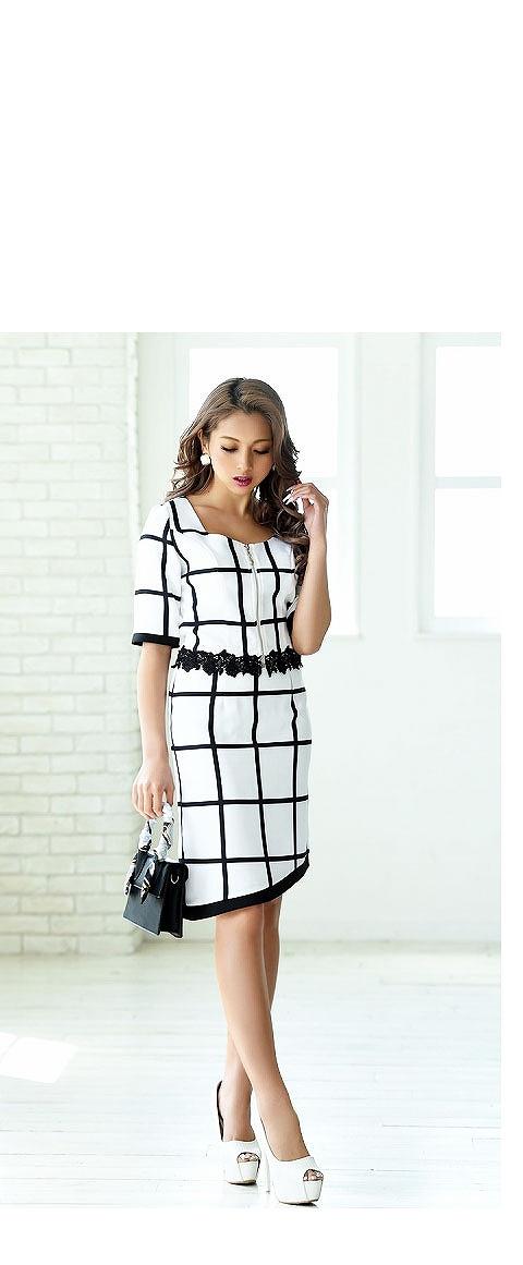 ゆきぽよちゃん着用キャバドレスNo5お店でも私服でも着られる2wayドレス