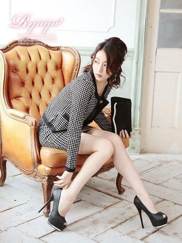 結婚式・お呼ばれに!ryuyu リューユ ニット2pセットアップスーツ 式スーツ 女性 フォーマル