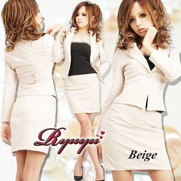 シャープ&cool♪オリジナル出来る女風美bodyスーツ 式スーツ 女性 フォーマル