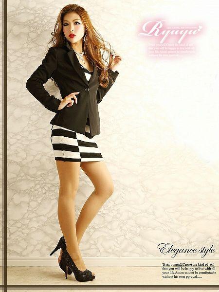 【訳あり!アウトレット¥6980→¥5880】 しっとりニットでsexy大人顔なブロックチェック柄ニットワンピスーツ,式スーツ 女性 フォーマル