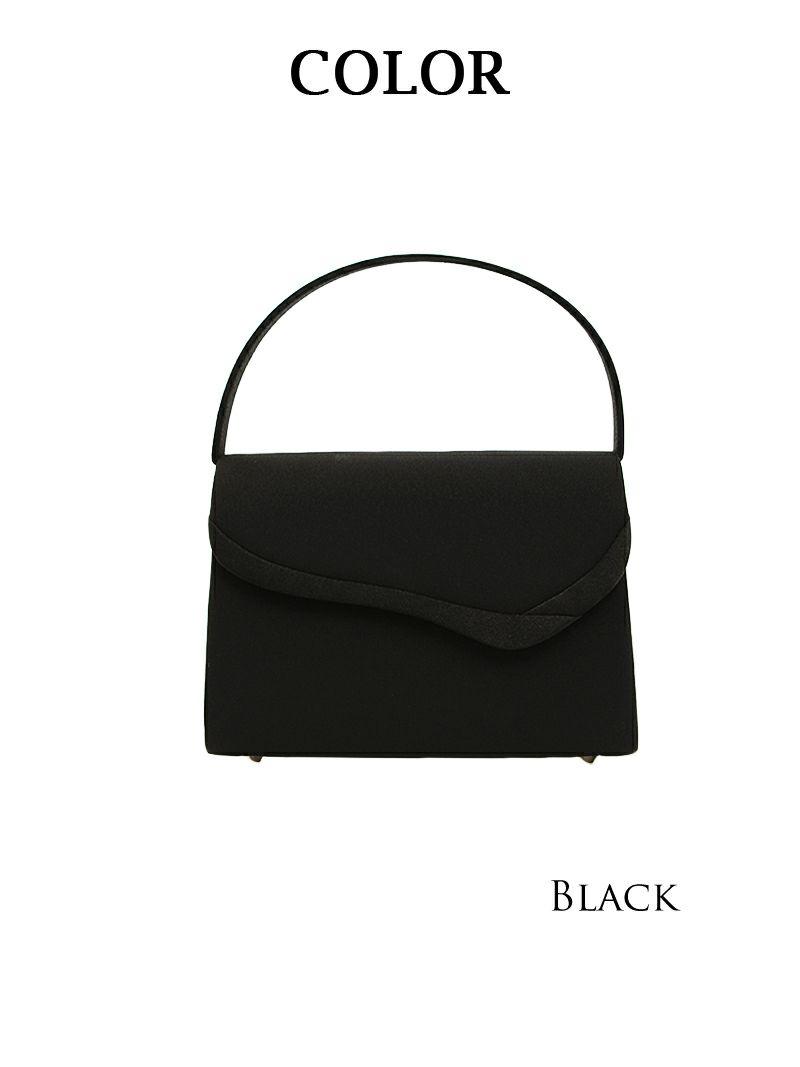 上品simpleフォーマルハンドバッグ【Ryuyu】【リューユ】冠婚葬祭や入園・入学式にも◎