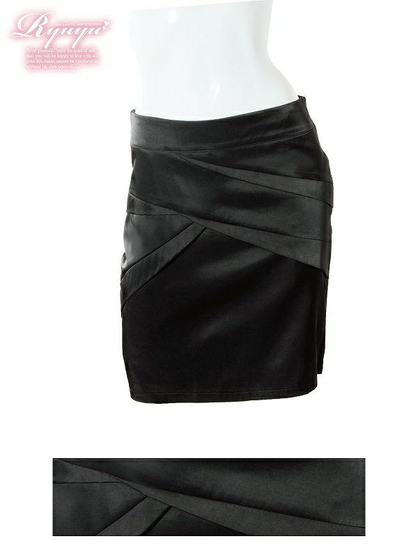 【単品】フォーマルok!キャバスーツにも○膝丈スカート【Ryuyu】【リューユ】キャバスーツにも○膝丈タイトスカート
