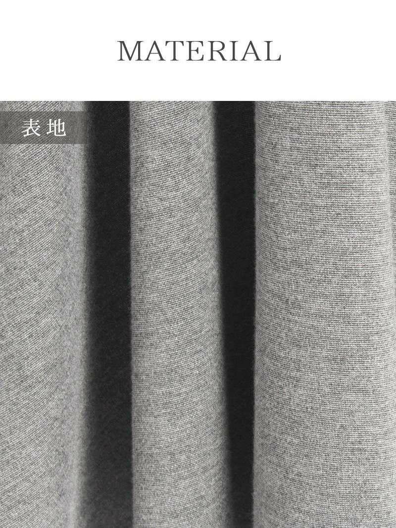 【LAfume】大人カシュクール長袖ワンピース 膝丈フレアーキャバワンピ【ラフューム】