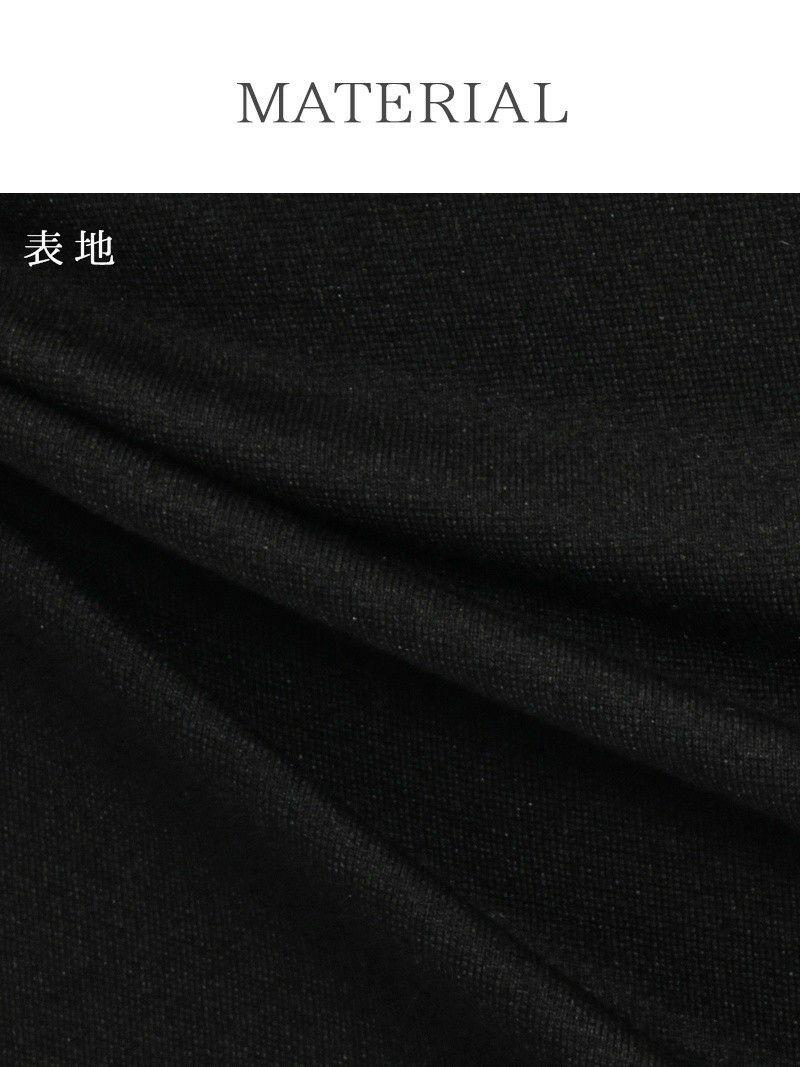 S/Lサイズ追加!! 【Belsia】 LUXURYビジュー膝丈キャバドレス 長袖タイトミニドレス 【ベルシア】