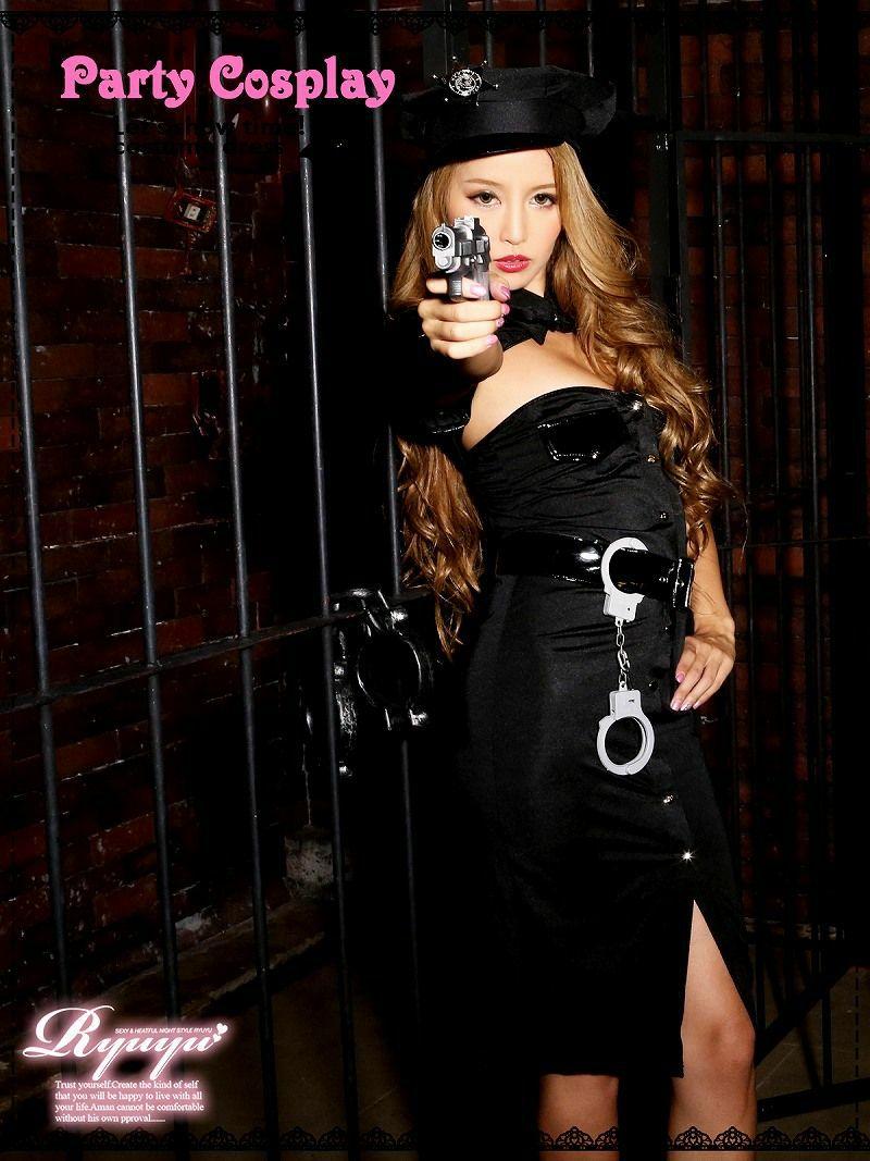 【キャバコスプレ6点セット】2WAY!!大人ARMYポリスコスプレセット【Ryuyu】【リューユ】婦人警官仮装 イベントやハロウィンに♪