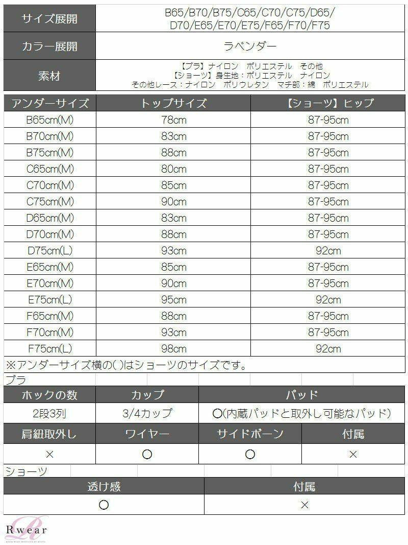 【Rwear】feminineレースブラ&ショーツセット【Ryuyu】【リューユ】OEO サイドストリングレディース下着2点セット【2点で3900円対象】