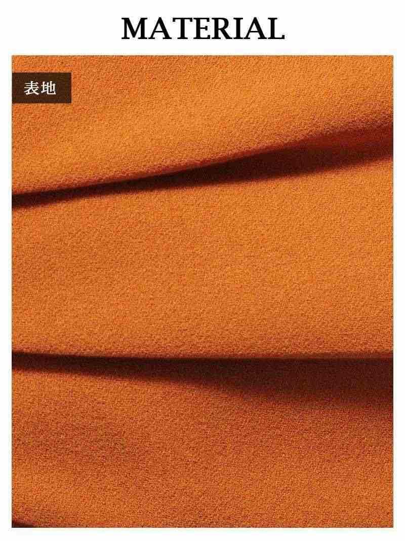 【Rvate】リボン付きハイウエストワイドパンツ シンプルロングパンツ