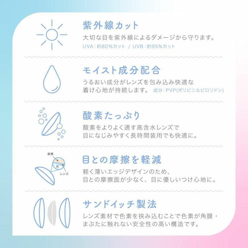 【カラコン 度あり】candy magic 1day(キャンディーマジックワンデー) SUGAR BROWN(ブラウン 茶)着色径13.8mm 1日使い捨て 1箱10枚入り OEO