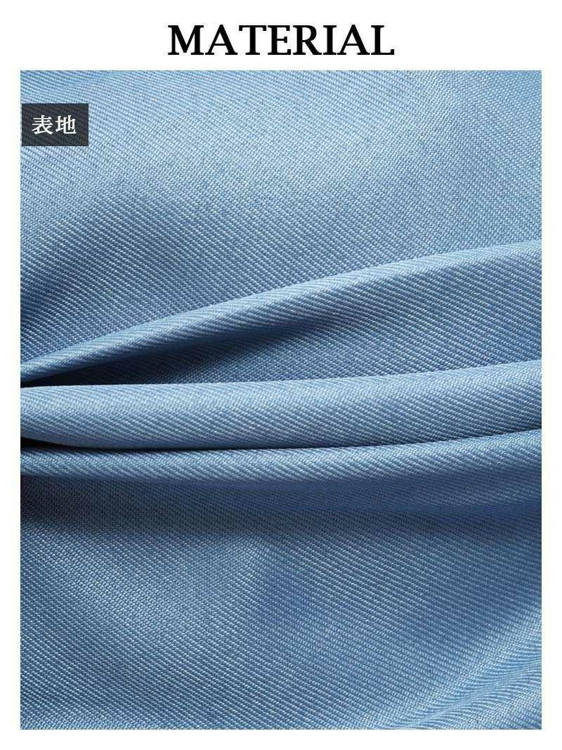 【Rvate】リボン付きハイウエストミモレ丈Aラインスカート シンプルロングスカート