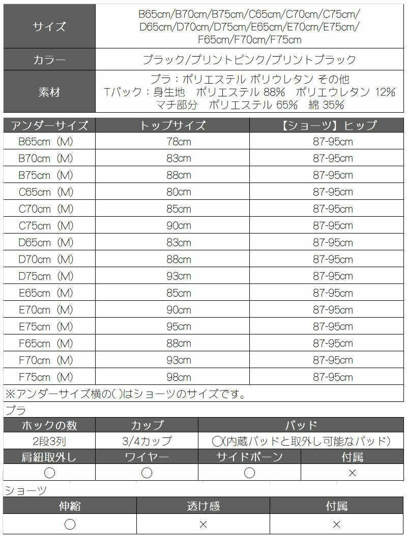 【Rwear】アイレットバストアップ花柄ブラ&ショーツセット【Ryuyu】【リューユ】 無地編み上げリボンTバックレディース下着2点セットOEO【2点で3900円対象】