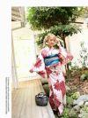 【即納】高級華やかな定番花柄浴衣 NATSUNE 着用レディース浴衣2点セット